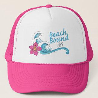 Gorra encuadernado del camionero de la playa