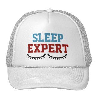 Gorra experto del camionero del sueño