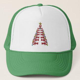 Gorra feo del fiesta lindo del árbol de navidad de