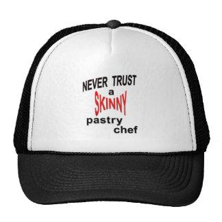 Gorra flaco del chef de repostería