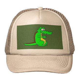 Gorra fresco del diseño del cocodrilo