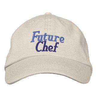 Gorra futuro del cocinero de la diversión gorra de beisbol bordada