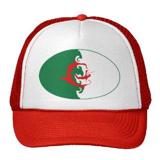 Gorra Gnarly de la bandera de Argelia