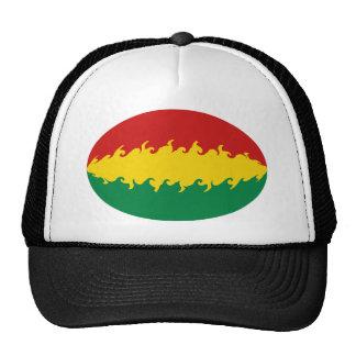 Gorra Gnarly de la bandera de Bolivia