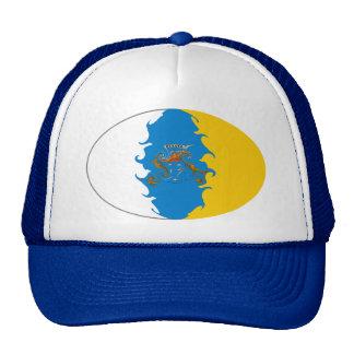 Gorra Gnarly de la bandera de las islas Canarias