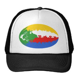Gorra Gnarly de la bandera de los Comoro