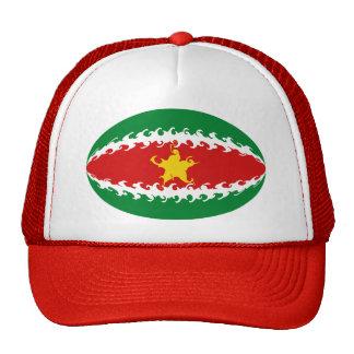 Gorra Gnarly de la bandera de Suriname