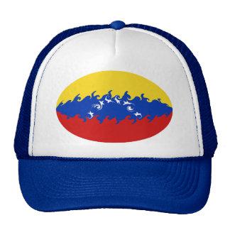Gorra Gnarly de la bandera de Venezuela