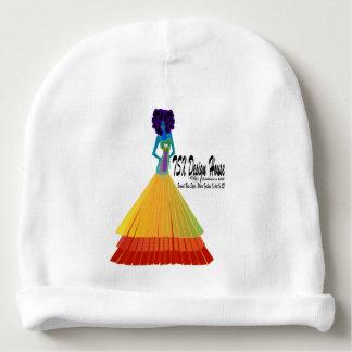 Gorra infantil blanco w/Logo del bebé de la firma Gorrito Para Bebe