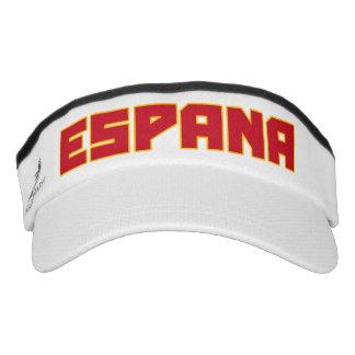 Gorra intrépido del visera del texto de Espana Visera