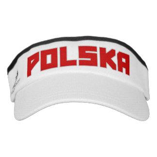 Gorra intrépido del visera del texto de Polska