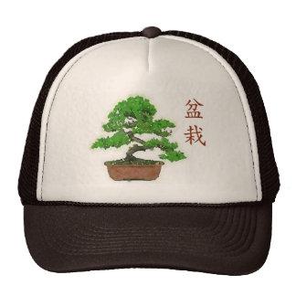 Gorra japonés del camionero del verano del árbol