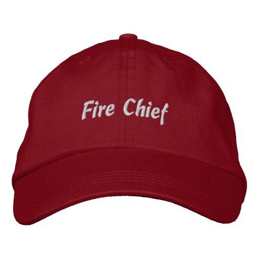 Gorra Jefe-Bordado fuego Gorras Bordadas