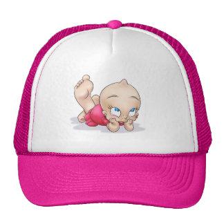 gorra lindo del chica del dibujo animado