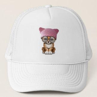 Gorra lindo del gatito de Cub de tigre que lleva