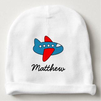 Gorra lindo personalizado del bebé del aeroplano gorrito para bebe