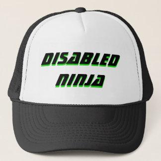 gorra lisiado del trucke del ninja