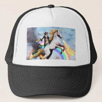 Gorra mágico del gato y del camionero del