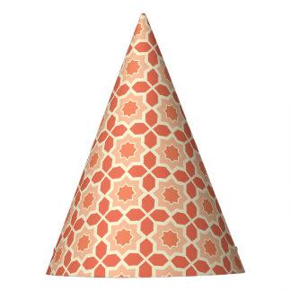Gorra marroquí coralino de moda del fiesta del