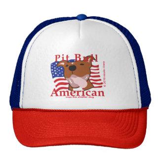 Gorra máximo del americano del pitbull