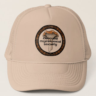 Gorra micológico del logotipo de la sociedad de la