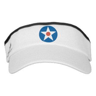 Gorra militar del visera de la estrella del visera