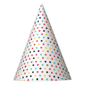 Gorra minúsculo del fiesta de los puntos del