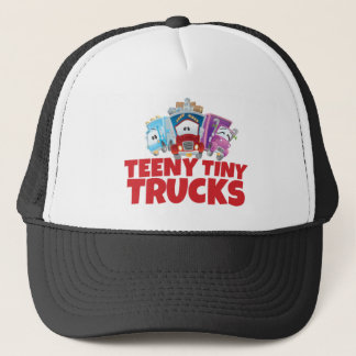 Gorra minúsculo pequeñito del camionero de los