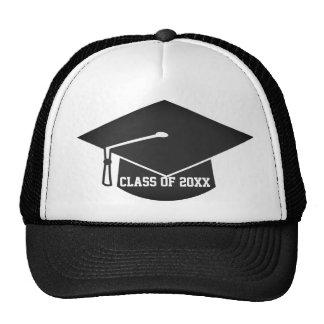Gorra moderno de la graduación del estilo