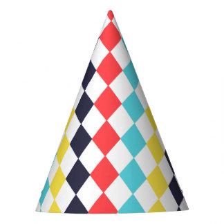 Gorra multi del fiesta del diamante del carnaval