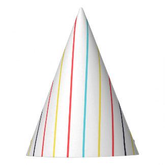 Gorra multi fino vertical del fiesta de las rayas