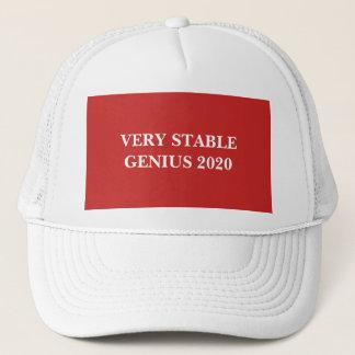 Gorra muy estable del camionero del genio