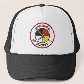 Gorra nativo del hockey