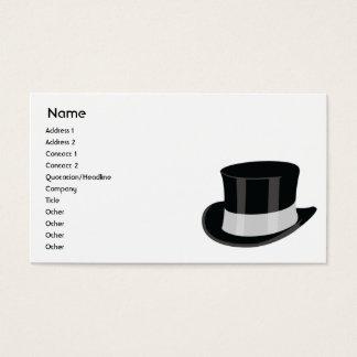 Gorra - negocio tarjeta de visita