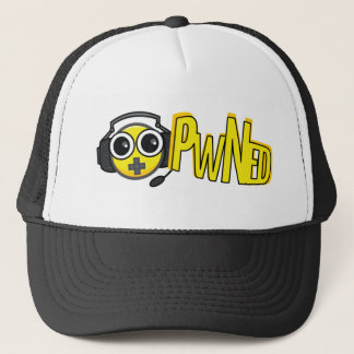 Gorra negro de EEKit del VIDEOJUGADOR de PwNED