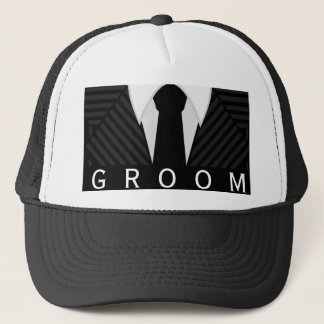 Gorra o casquillo del novio de la despedida de