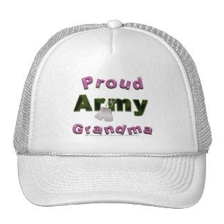 Gorra orgulloso de la abuela del ejército