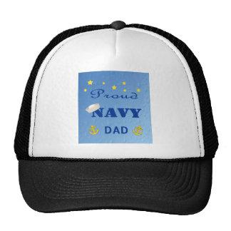 Gorra orgulloso del papá de la marina de guerra