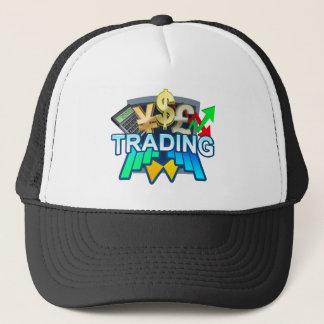 Gorra oscuro comercial del camionero