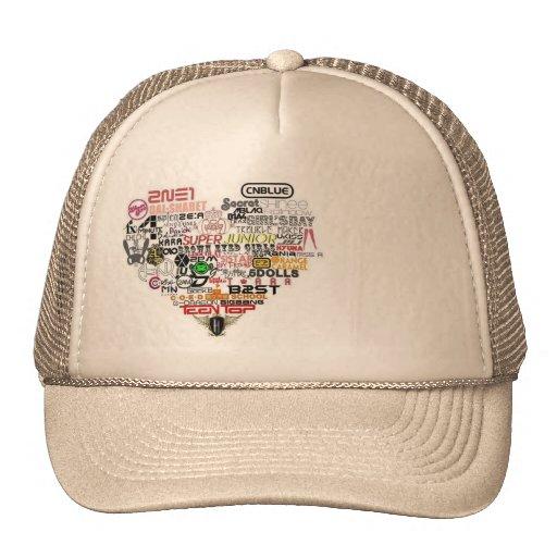 Gorra para las fans del kpop