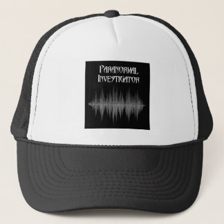 Gorra paranormal del camionero del investigador