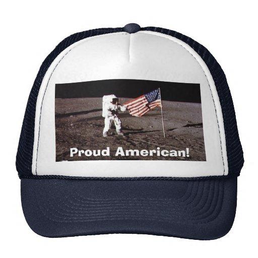 Gorra patriótico americano orgulloso del camionero