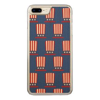 Gorra patriótico del tío Sam Funda Para iPhone 7