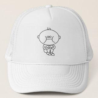 gorra peculiar del doodle del niño
