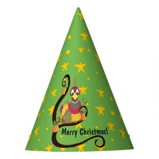 """Gorra """"perdiz de la fiesta de Navidad en un peral Gorro De Fiesta"""