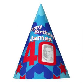 gorra personalizado 40.o cumpleaños del nombre de