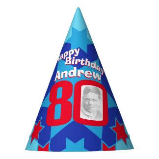 gorra personalizado 80.o cumpleaños del nombre de