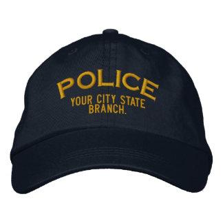 Gorra personalizado de la policía gorra de béisbol