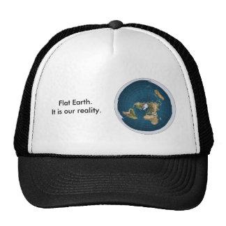 Gorra plano de la tierra. Es nuestra realidad