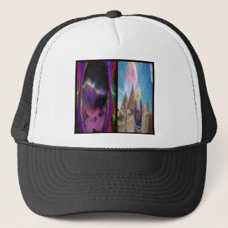 Gorra psicodélico del cubo
